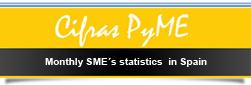 New window. Monthly SME's statistics in Spain
